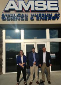 Gabby Calvo, Eddie Lopez & Allen Stansbury attending the Oak Ridge Millennial Nuclear Caucus at the American Museum of Science & Energy in Oak Ridge!