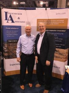 Vice Presidents Steve Mournighan and Clay Ramsey at Waste Management 2018